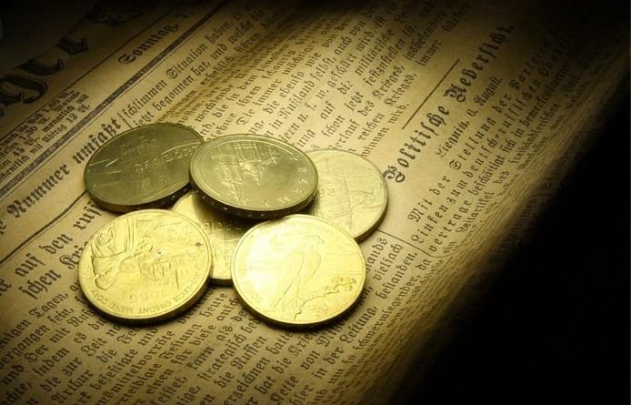 Darmo obraz_ Monety, Złoty, Waluty, Waluta - Gratis obraz na Pixabay - 431537