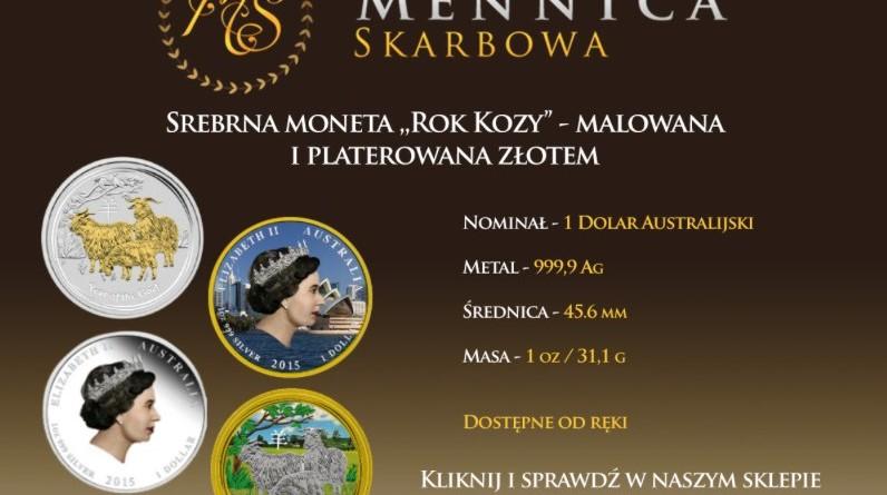 Fw_ Unikatowa moneta _Rok Kozy_ - malowana i platerowana złotem teraz w Mennicy Skarbowej! - paulinasupel@gmail.com - Gmail